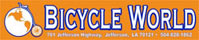 Click HERE for additional information regarding Bicycle World