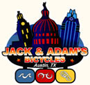 Jack and Adam's Bicycles logo